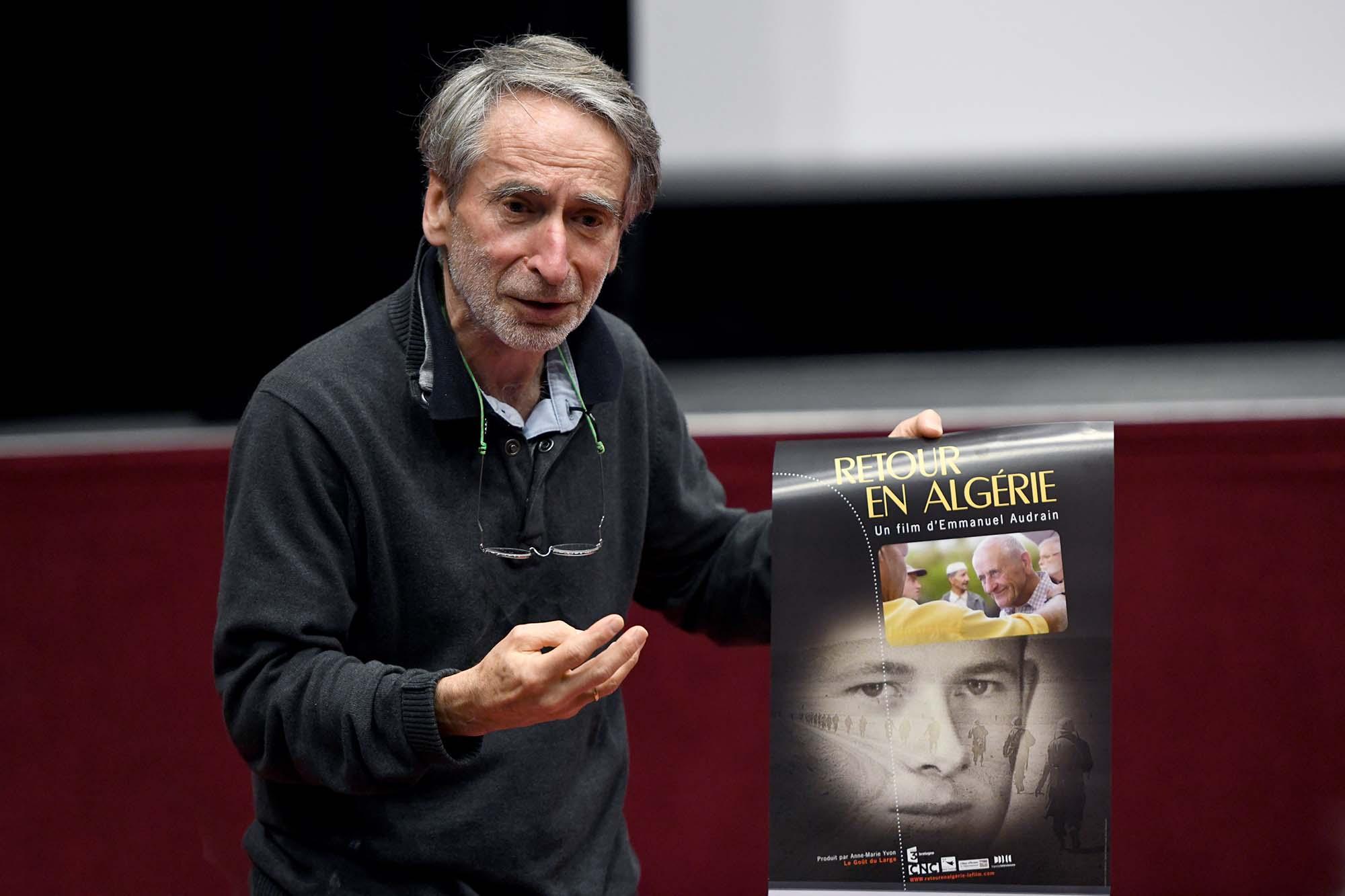 """Le réalisateur de """"Retour en Algérie"""" Emmanuel Audrain (©Ville de Saint-Nazaire - Christian Robert)"""