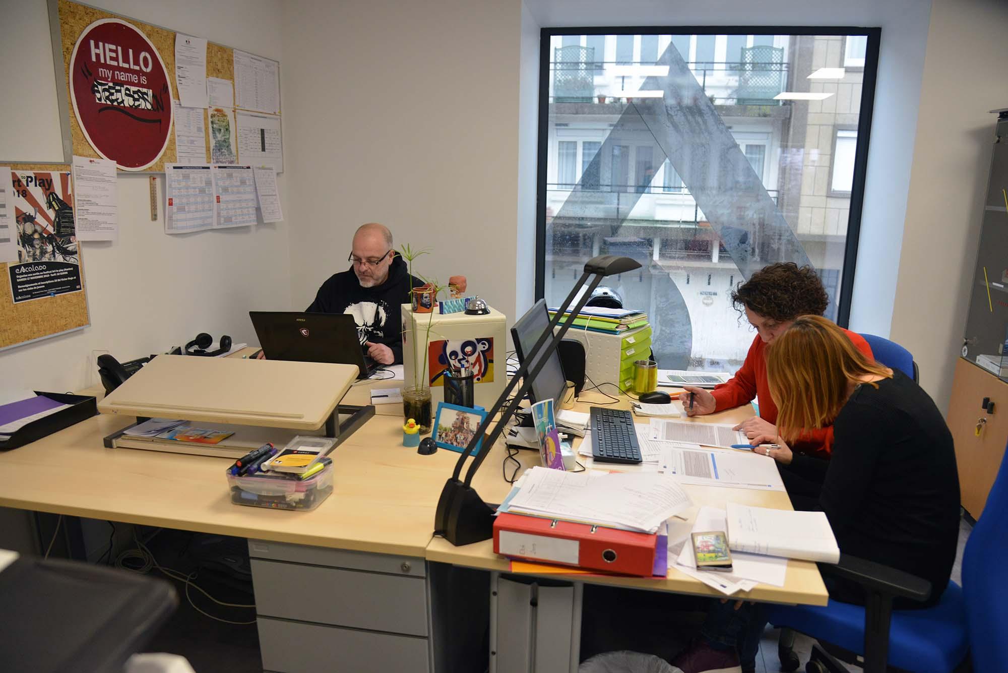 Le nouveau siège d'Escalado, ex-OMJ, au 49 rue Jean Jaurès à Saint-Nazaire. (@Ville de Saint-Nazaire - Christian Robert)
