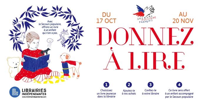 Donnez A Lire 2019 Operation De Lecture Solidaire Saint