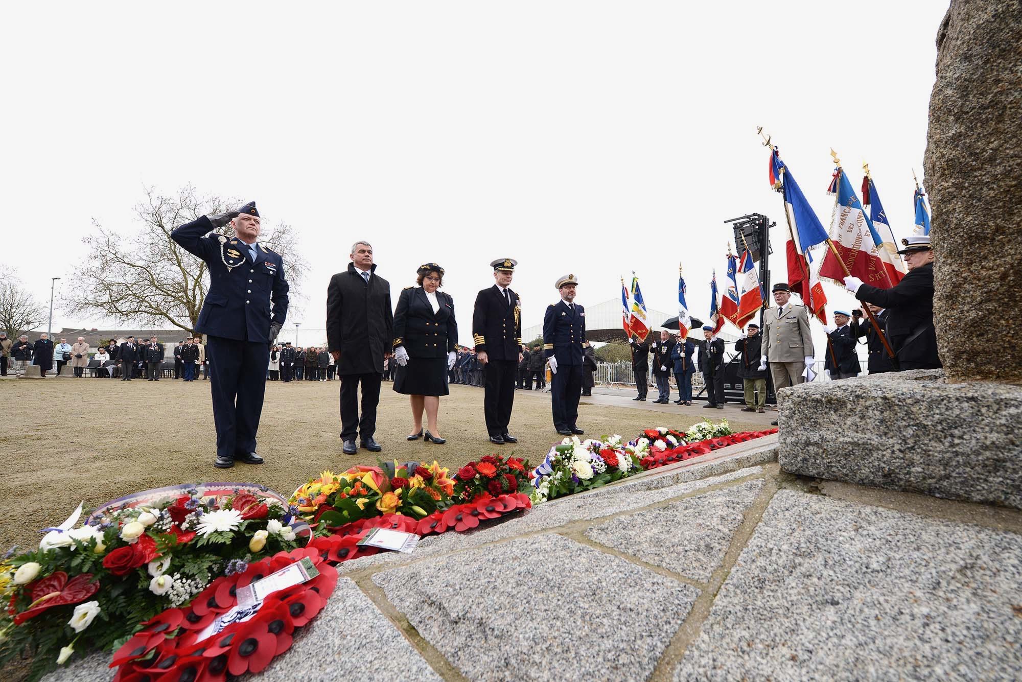 76e anniversaire de l'Opération Chariot.