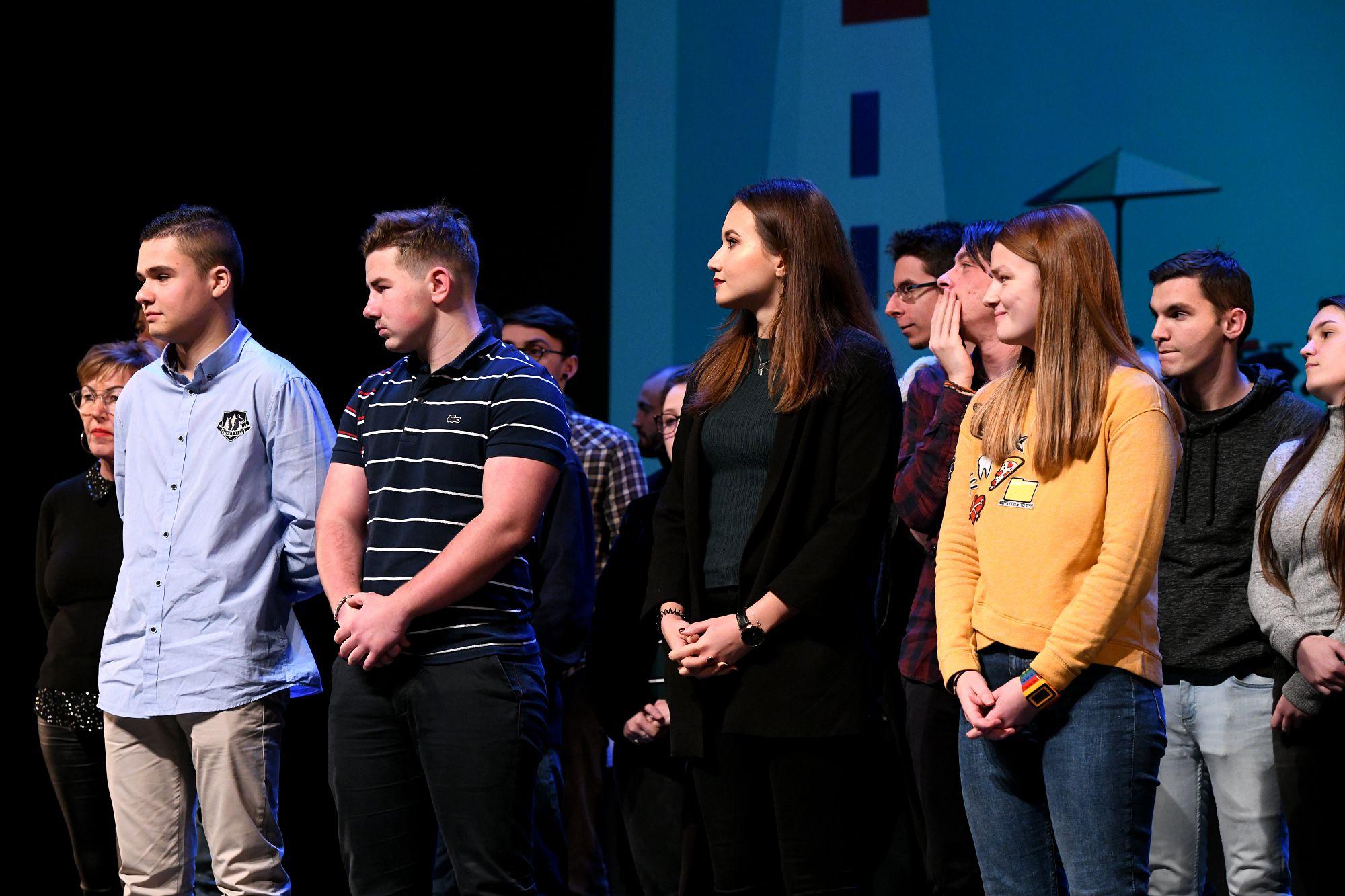 Les meilleurs apprentis de l'année 2018 ont été mis à l'honneur.