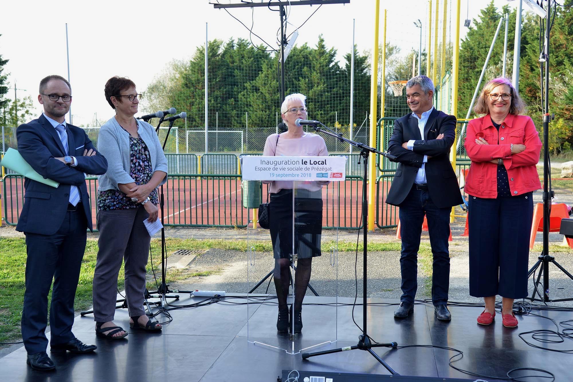 L'espace de vie sociale de Prézégat a été inauguré officiellement mercredi 19 septembre.