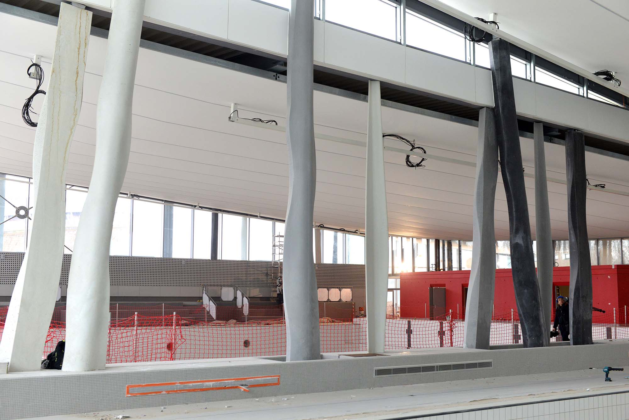 Lors de la phase de conception du projet, le bâtiment fut l'un des premiers en France à être intégralement modélisé à l'aide d'une maquette numérique