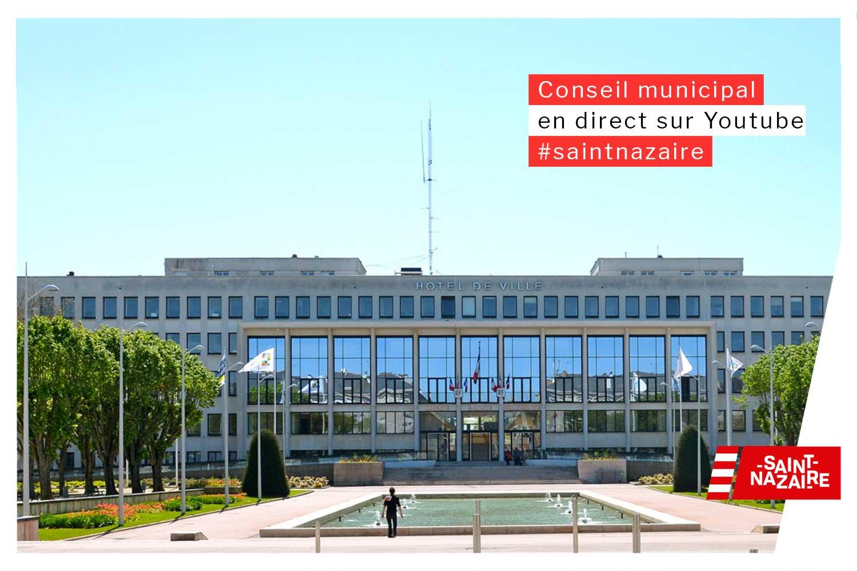 Le Conseil Municipal Du 29 Mars En Différé Saint Nazaire