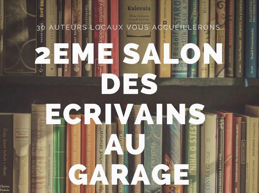 Salon des écrivains au Garage