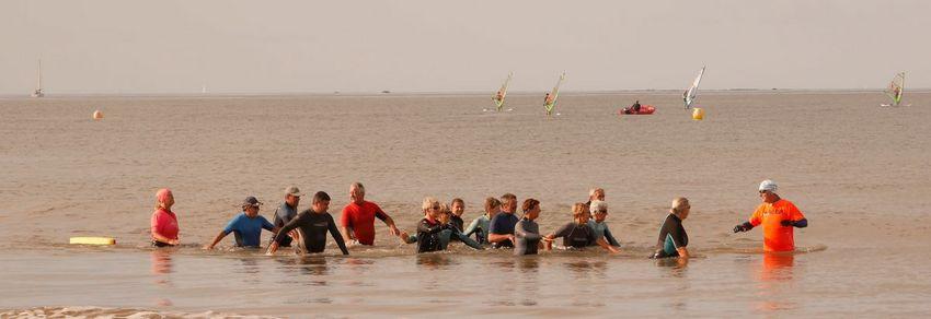 Marche nautique à Pornichet à Saint-Nazaire