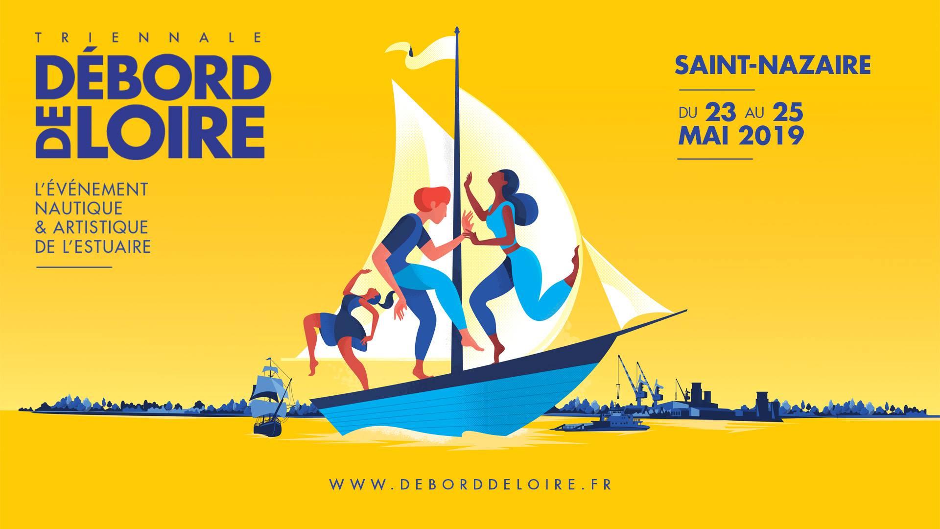 Débord de Loire l'événement nautique et artistique