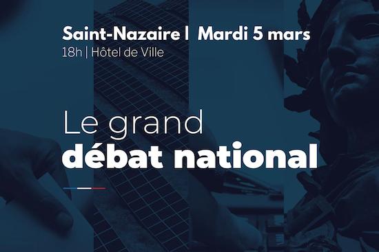 Grand débat national à Saint-Nazaire