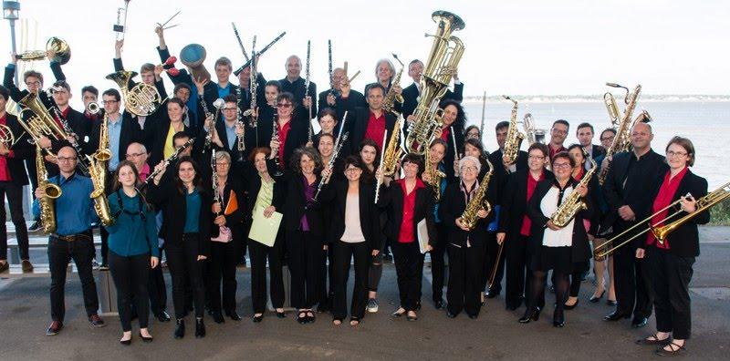 L'orchestre d'harmonie de Saint-Nazaire