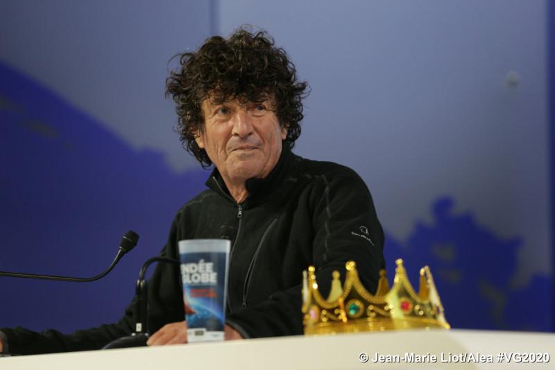 Jean Le Cam, 4e au Vendée Globe (©Jean-Marie Liot/Alea #VG2020)